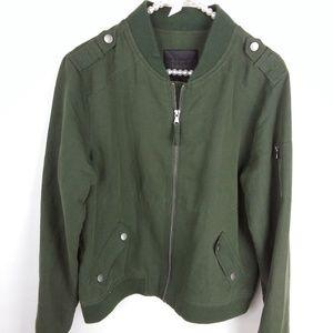 Paige Jacket Olive Green Military Jacket
